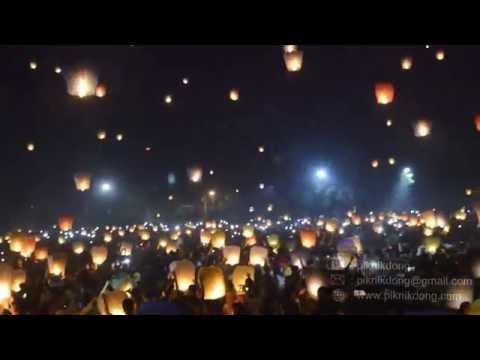 Download Menoreh Night Spectacular, Festival 1000 Lampion Terbang, Kulon Progo, Yogyakarta Mp4 baru