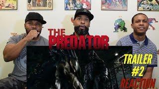 The Predator Trailer #2 Reaction