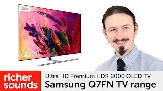 Samsung Q7FN - Ultra HD Premium HDR 1500 QLED TV | Richer Sounds