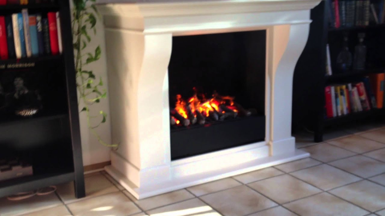 elektrischer kamin carrara l mit 3d feuer wasserdampfkamin kamin elektro test youtube. Black Bedroom Furniture Sets. Home Design Ideas