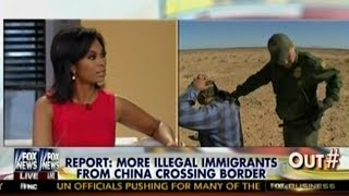 Border Crisis - Report: More Illegal Immigrants From China Crossing Border - Outnumbered