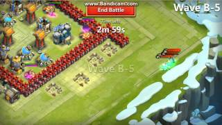 Castle clash Adventures legents fight war in the world wide level 9