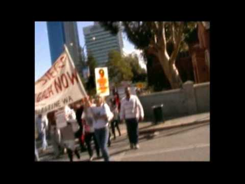 Protest for Gaza June 6th 2010 Perth Australia Part 3