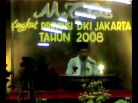 H. Fakhruddin Sarumpaet [MTQ Tingkat Provinsi DKI Jakarta 2008] - juara 1