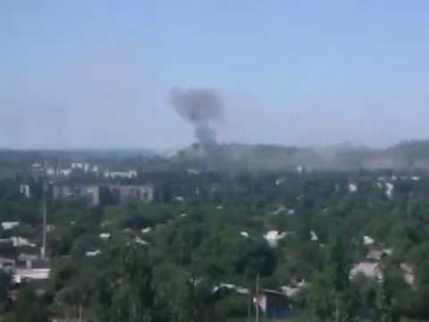 Ukraine today, Shelling Gorlovka