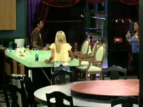 Danielle and Nick And Dick Vs Jen Fight Big Brother 8