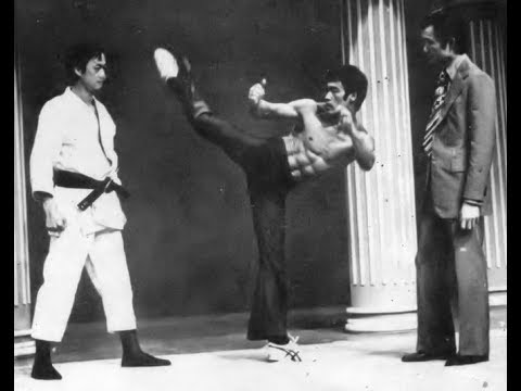 Bruce Lee Hong Kong TV show Jeet Kune Do vintage footage