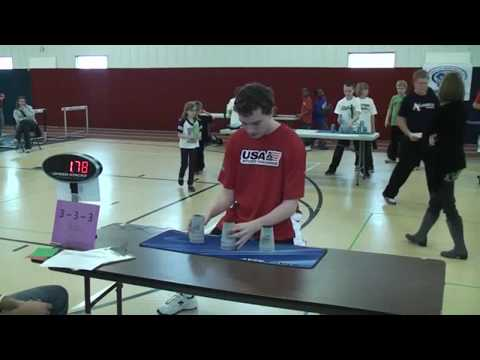 The Iowa State Sport Stacking Championships 3/3/12