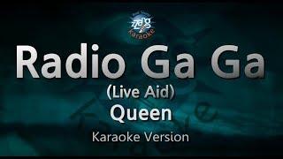 Queen Radio Ga Ga Live Aid Melody Karaoke Version Zzang Karaoke