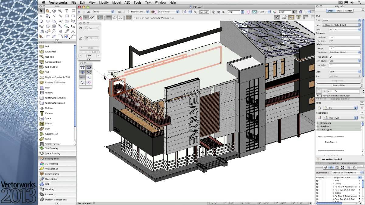 Vectorworks architect youtube for Architect 3d mac