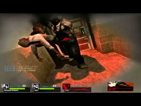"Left 4 Dead 2 - ""Safe"" Room Door Epic Fail! Not So Safe Room"