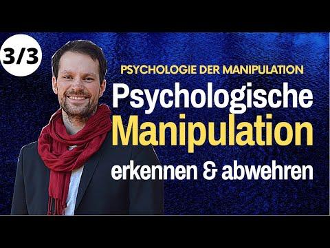 Psychologie der MANIPULATION Methoden erkennen & ABWEHREN | Marian Zefferer 3/3