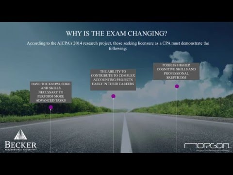 Mike Brown and The 2017 Cpa Exam Changes