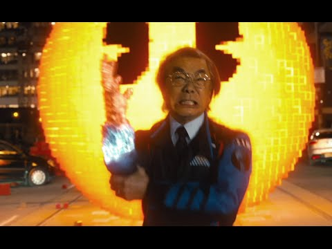 Pixels Movie CLIP - Pac-Man Attack (2015) Peter Dinklage Action Movie HD
