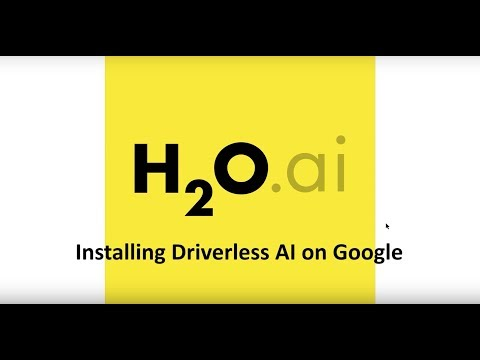 Installing Driverless AI On Google Cloud Platform (GCP)
