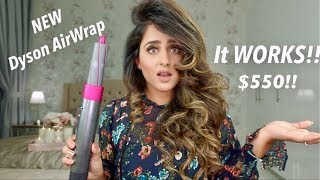 THE RIGHT WAY TO USE THE NEW DYSON AIRWRAP?! | REVIEW | HADIA
