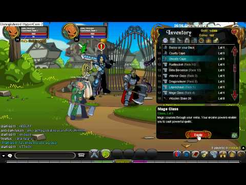 AQWorlds Account Lv 14/Ac Coins/ Beta Berserk/More Sick Items