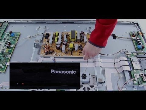 Panasonic Plasma TV Repair - Understanding 10 Blink Code for 2011 Panasonic Plasma TVs-How To Repair