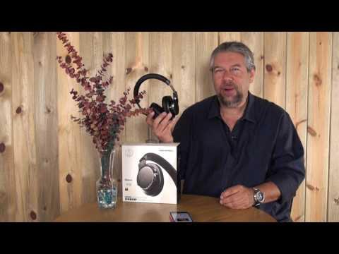 Hi Res Audio-Technica ATH DSR7BT Bluetooth Headphones  - Reviewed!