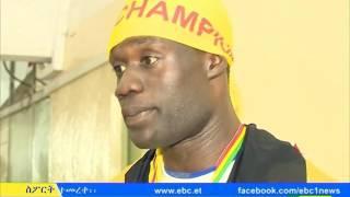 St George Wins the League, Almaz Ayana won Henglo 10,000m