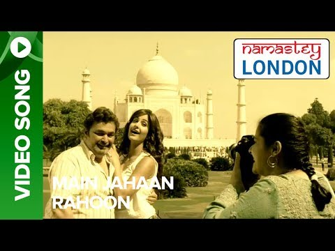 "Check out ""Main Jahaan Rahoon"" from Namastey London sung by Rahat Fateh Ali Khan featuring Akshay Kumar & Katrina Kaif. To watch more log on to http://www.er..."