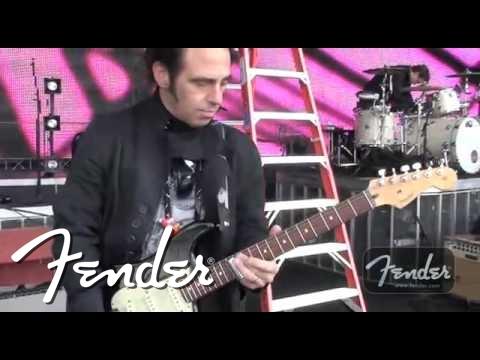 Nils Lofgren's Fender® Amps&Guitars!