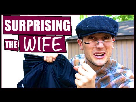 SURPRISING THE WIFE!