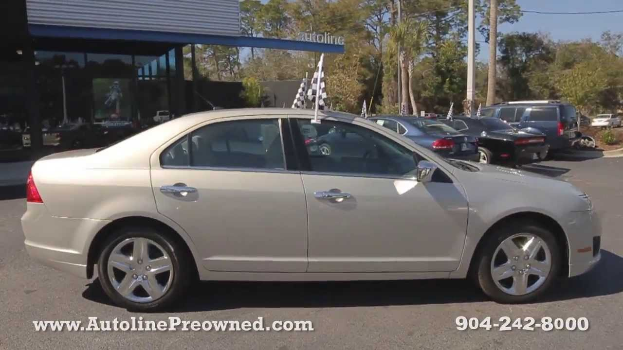 2010 Ford Fusion SE at Autoline Preowned For Sale Used