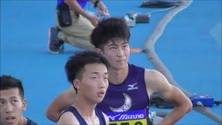 日本インカレ 男子100m決勝 波乱の展開 2018.9.8