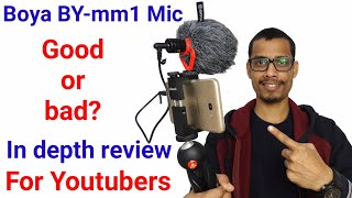 Boya BY-mm1 shotgun mic honest review and comparison