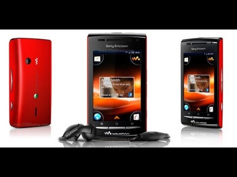 Sony Ericsson W8 Walkman Hard Reset and Forgot Password Recovery. Factory Reset