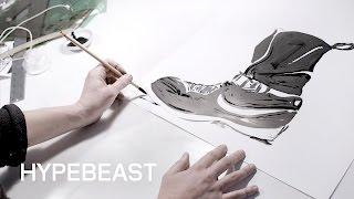 Paul Pope Designs Acronym X Nike Air Force 1 Downtown Comics