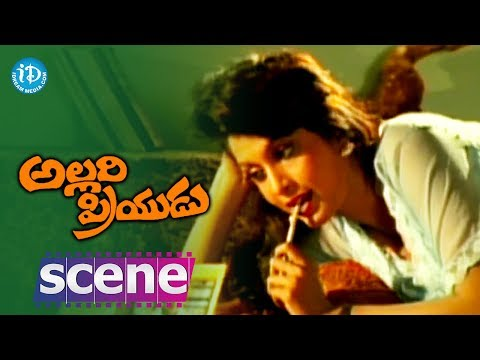 Allari Priyudu Movie Scenes - Ramya Krishna dreaming about Rajashekar...