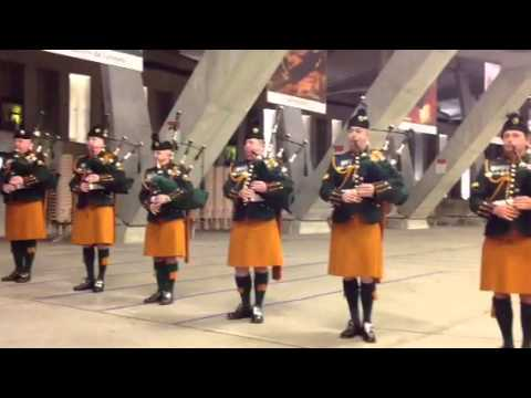 Irish Defence Forces Pipe Band