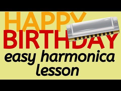 Happy birthday harmonica tabs