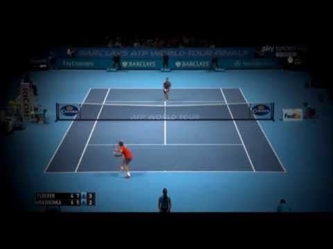 Roger Federer Vs Stan Wawrinka atp world tour finals London 2014 highlights (HD)