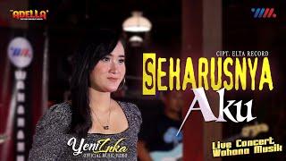 Download lagu YENI INKA ft OM ADELLA | SEHARUSNYA AKU | LIVE CONCERT WAHANA MUSIK
