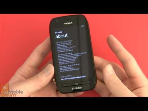 Nokia Lumia 710 (T-Mobile) video tour