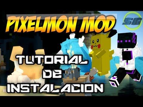 Como Instalar MOD Pokemon (Pixelmon Mod) - TUTORIAL ESPAÑOL