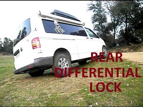 Rear differential lock Volkswagen T5 4motion demon