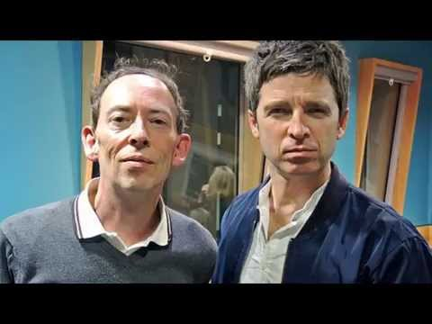Noel Gallagher and Steve Lamacq on BBC Radio 6 on 13th October 2014