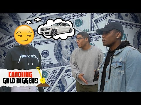 CATCHING GOLD DIGGERS! - Is she buying a Mercedes with HIS money? | Gold Digger Prank 2018