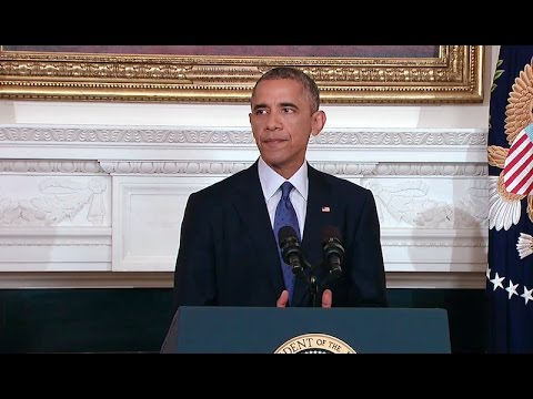 President Obama Makes a Statement on Iraq