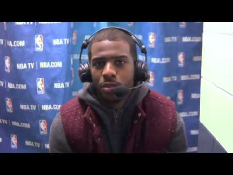 Chris Paul Talks About Win Over the Celtics | Clippers vs Celtics | December 11, 2013 | NBA 2013-14
