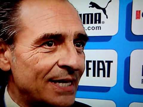 Intervista a Cesare Prandelli dopo Italia-Uruguay
