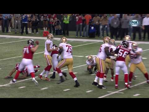 49ers vs  Falcons 2012 NFC Championship Highlights