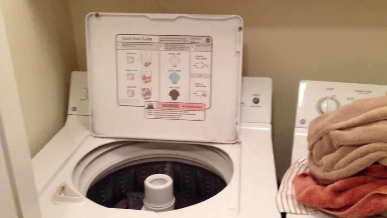 GE Washing Machine Review - YouTube