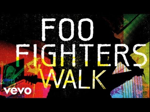 Foo Fighters - Walk (audio) video