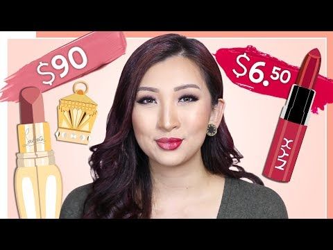 High End VS Low End Lipsticks: Which Ones Are Worth The Money?!