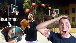 TRICK SHOT HORSE *Loser Gets Real TATTOO!!*